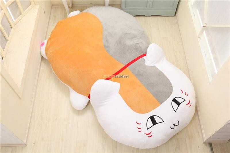Fancytrader 210cm X 150cm Huge Giant Cute Cat Tatami Bed Carpet Sofa, Gift For Girls, Free Shipping FT90287 (2)