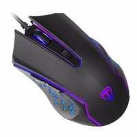 TECKNET 2400 DPI USB Wired Gaming Mouse Gamer 6Buttons Opitical Ergonomics Computer Mice For PC