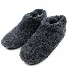 De gran Tamaño de Invierno Furry Zapatillas de Casa Los Hombres De Warm Soft suelas de Franela Interior Piso Dormitorio Felpa Zapatos Hombre Casa pantoufle homme