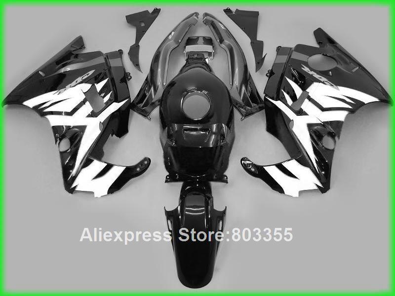 Branco kit carenagem Da Motocicleta carenagens para Honda CBR600 F2 1991 1994 livre personalizado decalque 91 93 xl37