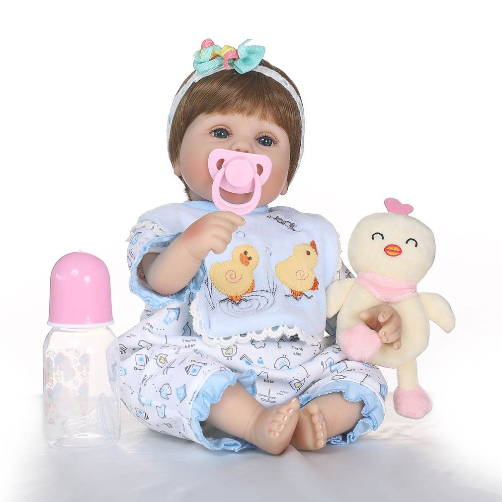 NPK Lovely Simulation Baby Doll Full Body Soft Silicone Vinyl Baby Doll Non-toxic Toys Cute Lifelike Newborn Baby Doll Toys GiftNPK Lovely Simulation Baby Doll Full Body Soft Silicone Vinyl Baby Doll Non-toxic Toys Cute Lifelike Newborn Baby Doll Toys Gift