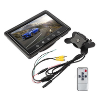 7 Inch Digital Color TFT LCD With 2 Video Input Car Monitor Car Reverse Rearview Parking