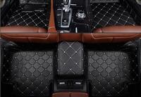 Esteiras do assoalho do carro de luxo personalizado apto para hyundai i 30 2012 estilo do carro auto tapete acessório do carro capa|Estilo de cromo| |  -