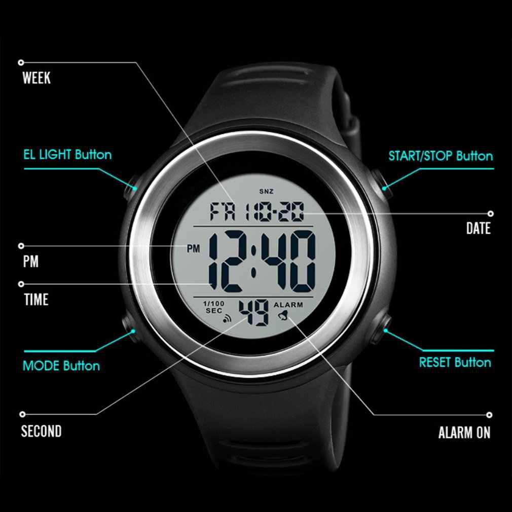 SKMEI יוקרה חיצוני ספורט צפה 50 m Waterproof משולב LED דיגיטלי שעון עסקי מזדמן שעון יד מודלים Relogio