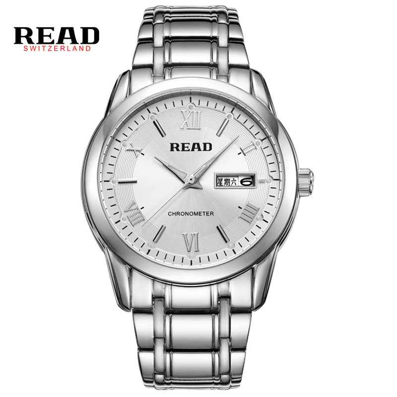 ФОТО Read Luxury Brand Fashion Watches Men Casual Charm Luminous Sport Multi-Function Quartz Wirst Watch Waterproof 30m PR67