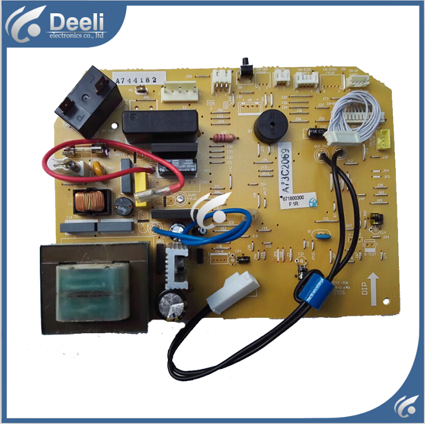 95% new Original for air conditioning Computer board A73C2069 A744182 circuit board on sale