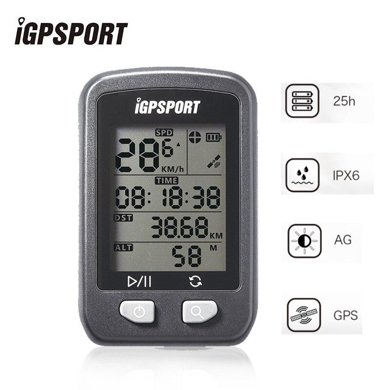 IGPSPORT IGS20 vélo vélo GPS ordinateur sans fil compteur de vitesse étanche IPX6 vélo vélo rétro-éclairage sport ordinateur accessoires