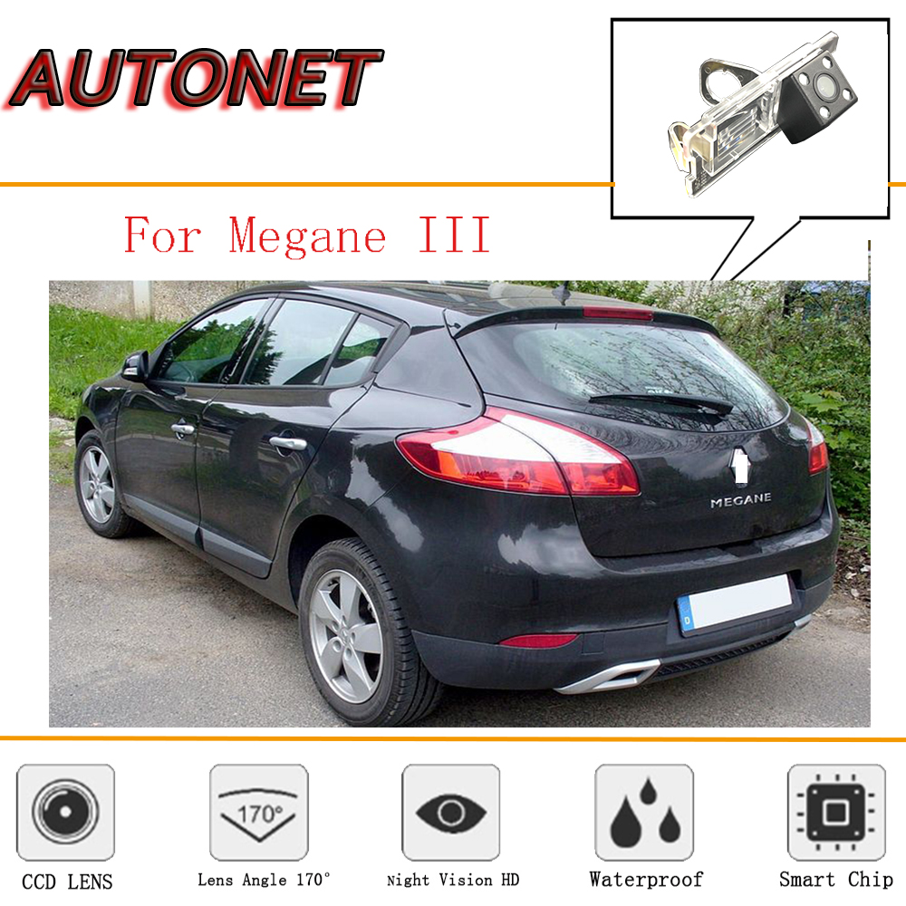 AUTONET Rear Camera For Renault Megane 3 2D Hatchback/Renault Scala/Reverse Camera/CCD/Night Vision/Backup License plate Camera