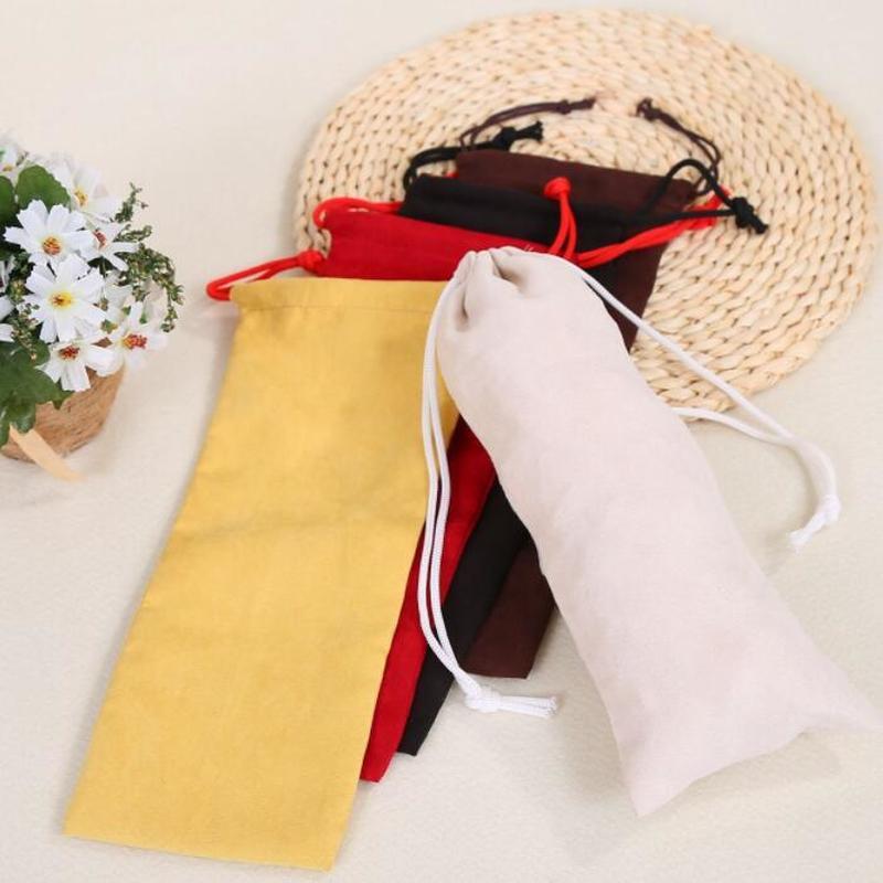 Бархатная сумка на шнурке, упаковка для ювелирных изделий, губная помада, подводка для глаз, карандаш для бровей, подарочные пакеты по индив...