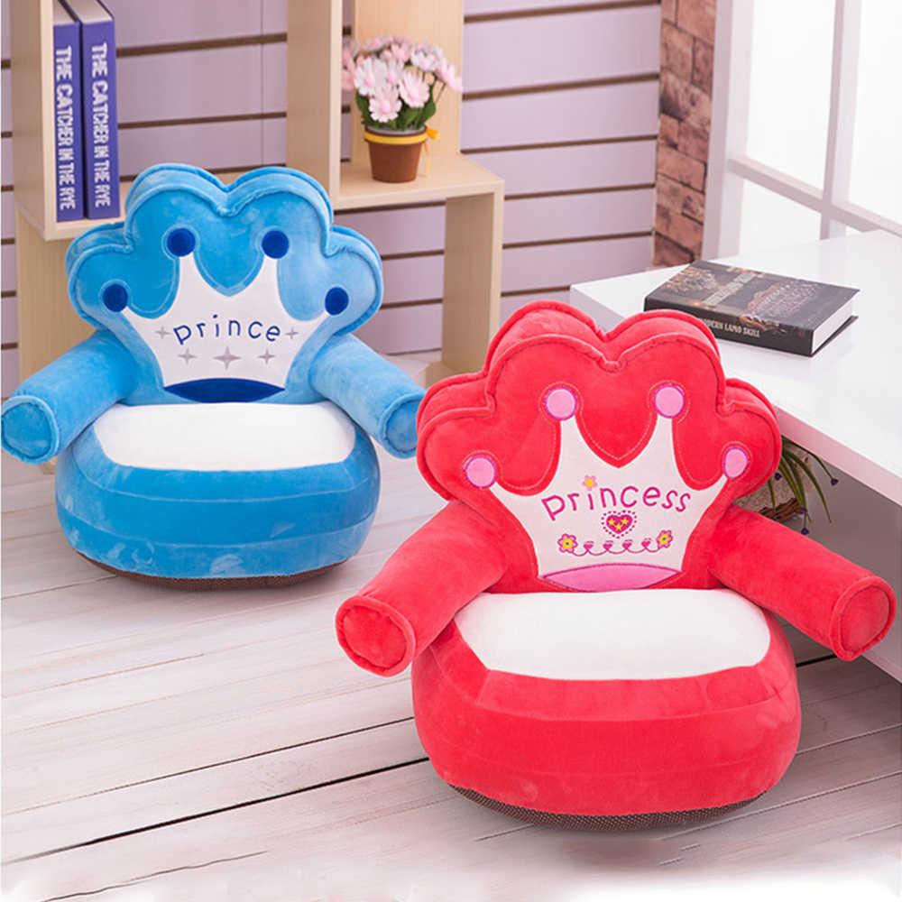 Детские сиденья Диван поддержка мягкая моющаяся только крышка без наполнения кресло-Подушка Детское сиденье диван кормления подушка для дивана