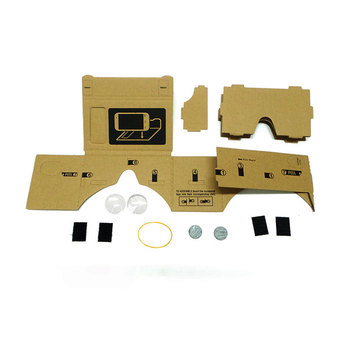 Hot Sale VR Cardboard Glasses 3D Glasses for Xiaomi Android DIY VR Glasses Box for iPhone 5 6 7 Smart Phones 3D VR Glasses 5