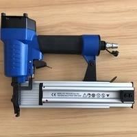 SAT1607 Pneumatic Nail Gun Woodworking Air Stapler F50B Nails Air Nailer Gun Straight Nail Gun Pneumatic Nailing Stapler Furnitu