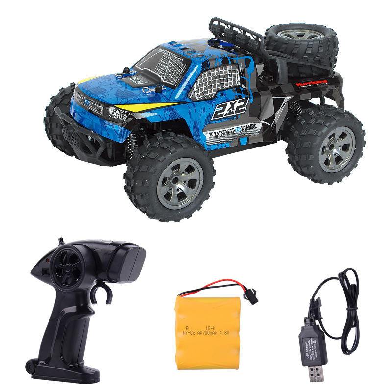 Image 3 - 2.4GHz Wireless Remote Control Desert Truck 1/18 18km/H Drift RC Off Road Car Desert Truck RTR Toy Gift Up to 18km/H Speed-in RC Cars from Toys & Hobbies