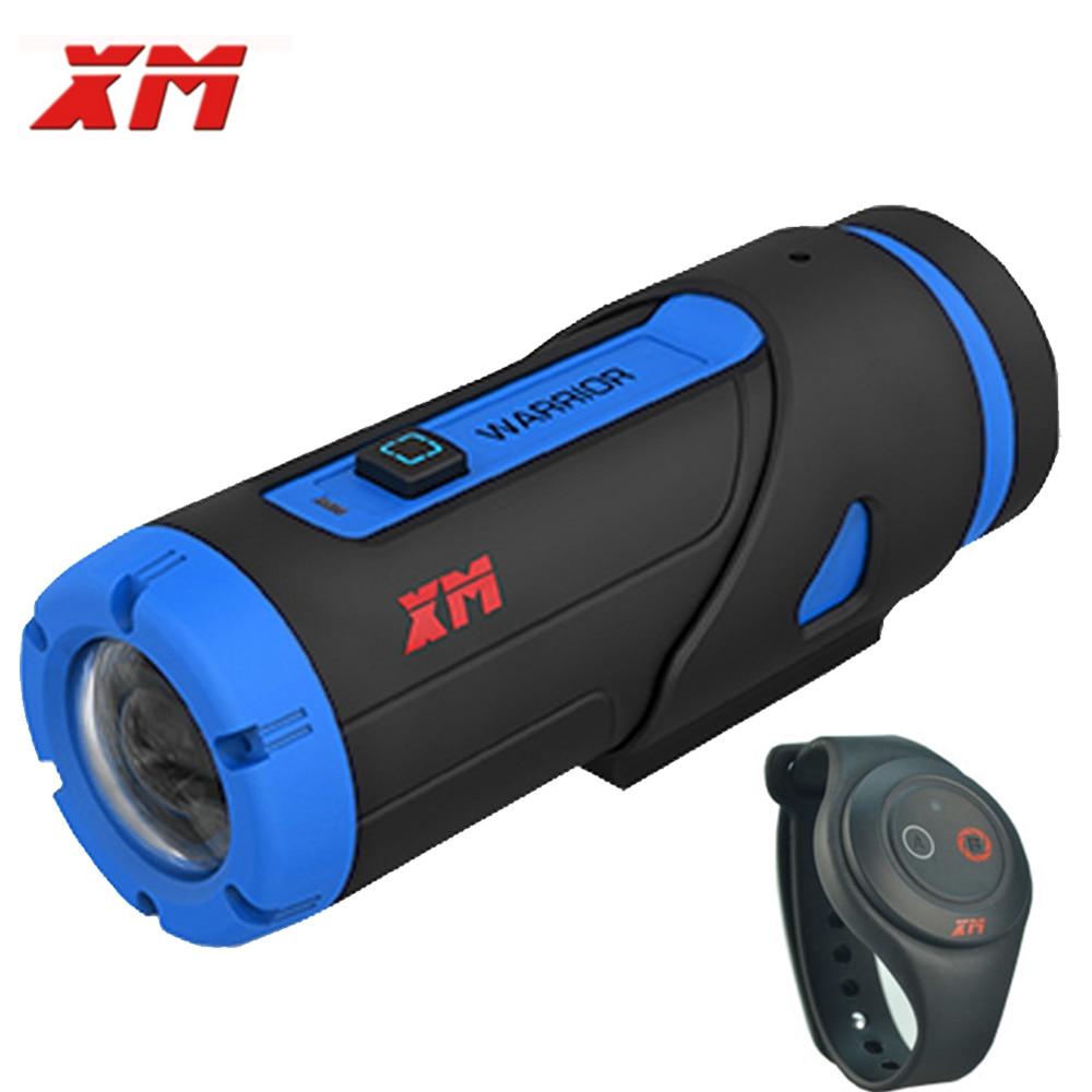 XM H.265 1080 P Full HD Sport Caméra Wifi Sport Action Caméra Étanche Action Caméra Enregistreur Avec Télécommande Comme Gopro