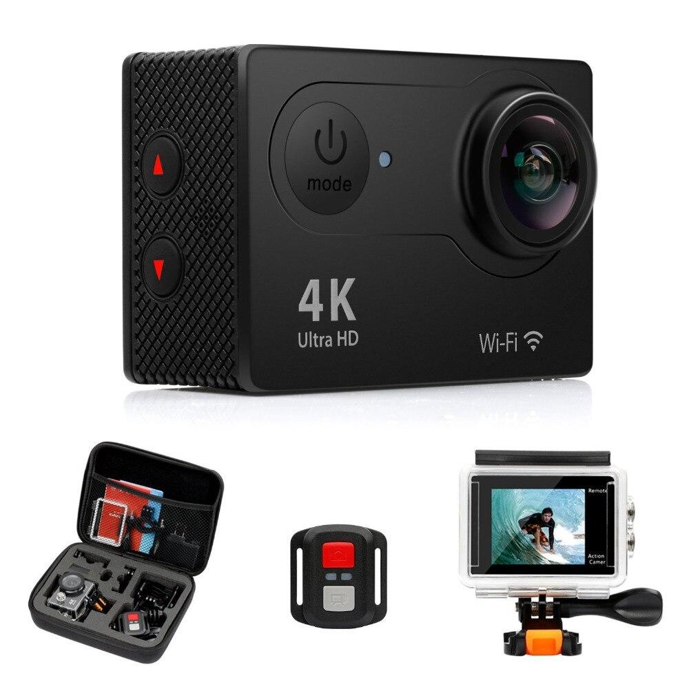 H9R 4K@25fps Ultra HD 30m waterproof 2 inches LCD Screen Wi-Fi Remote 12MP 170 Degree Wide Angle Sports Camera тв модуль ci триколор k m evr единый ultra hd европа