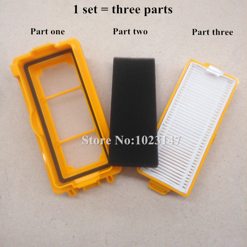 1 set Robot Vacuum Cleaner Parts Dust HEPA Filter for Ecovacs Deebot DEEBOT D66 D68 D73 D77 620 630 660 680 710 730 New Hot !