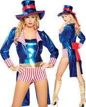 Nueva Sexy Disfraces de Halloween y Azul Golondrina Mago de Circo Ropa Señora Maquillaje de Fiesta Traje Cosplay B-3952
