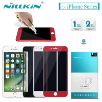 Nilkin For IPhone 8 7 6s 6 Tempered Glass Nillkin Full Cover 3D CP MAX Screen