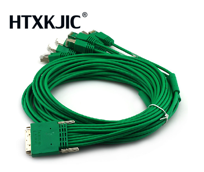 CAB-HD8-ASYNC 68pin to 8 x RJ45 Cable connectors 3m 10ft 8-port EIA-232 Async for HWIC-16A HWIC-8A Network Router switche Cable eia uus kahe näoga jumal