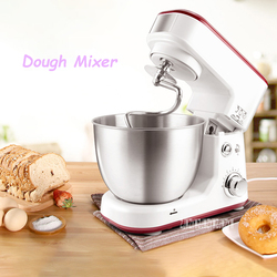 SC-209W Dough Mixer Commercial Table Egg Beater Household Whipping Machine 600W Automatic Small Multifunctional Doughmaker 4L