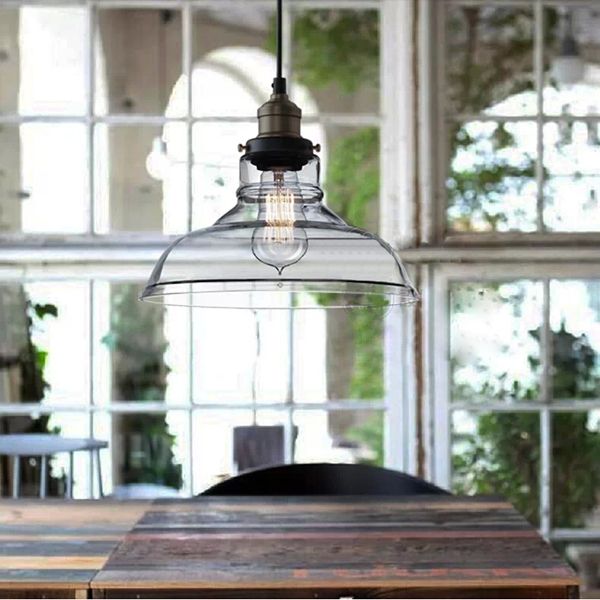 4f2d356f5e10 European Modern Industrial style Hanging Pendant Lights Lamps Vintage Retro  Edison Ceiling Glass Lamp Cafe Kitchen Restaurant