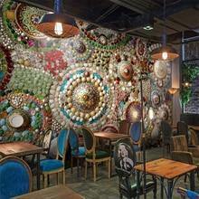 Beibehang Custom HD 3D Mural Bohemian Stone Home Decor Sofa Wallpaper For Walls