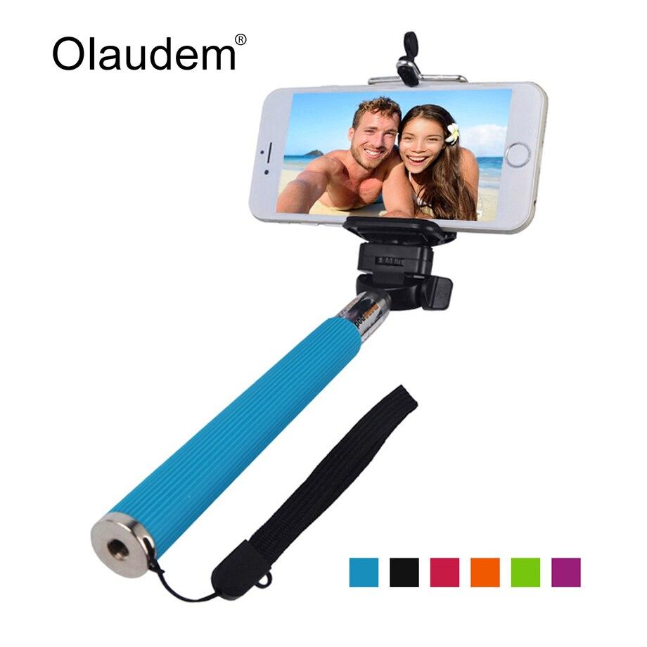 Selfie Stick Self Photos Extendable Selfy Monopod No