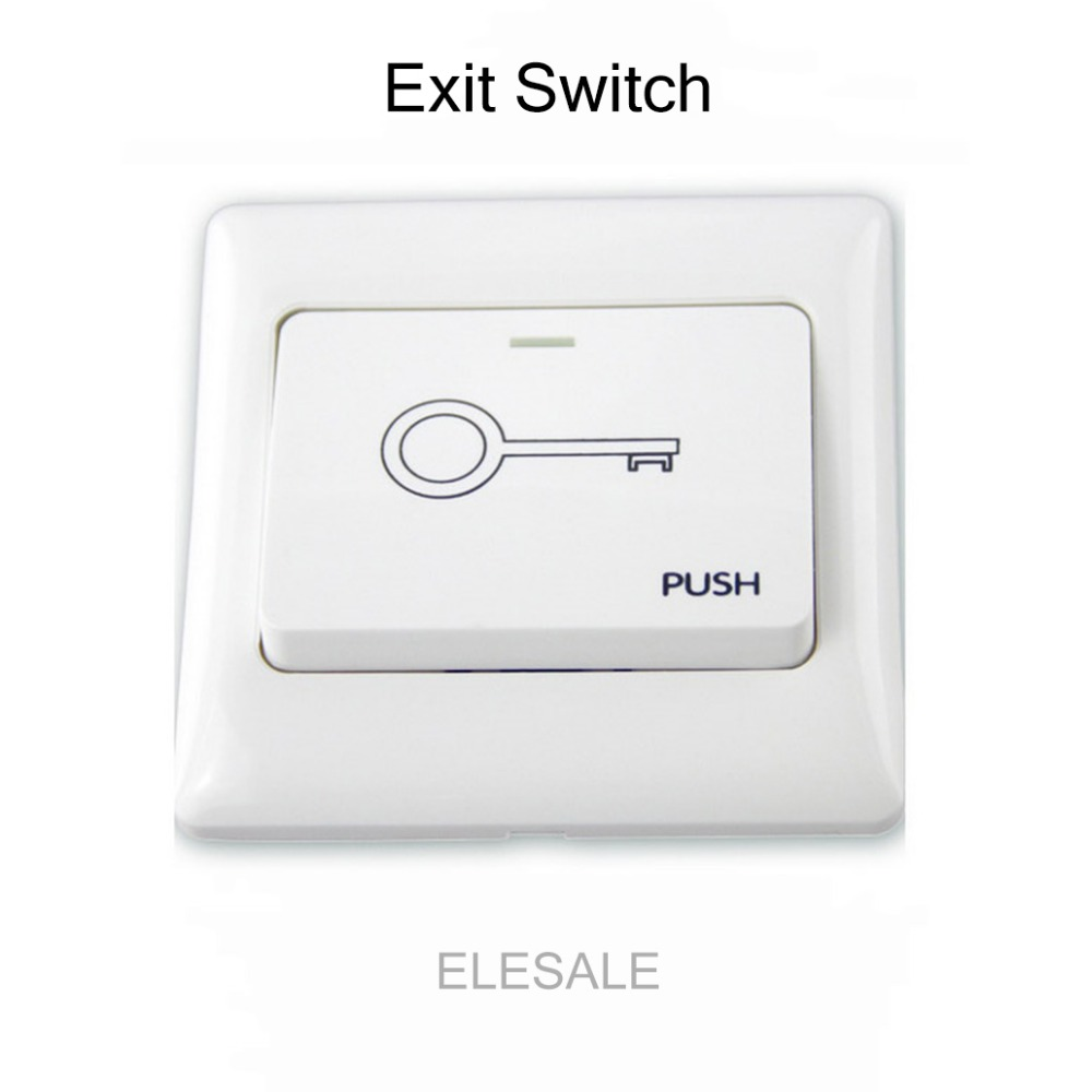 86*86cm White Plastic Exit Push Release Button Switch For Electric magnetic Lock Door Access Control86*86cm White Plastic Exit Push Release Button Switch For Electric magnetic Lock Door Access Control