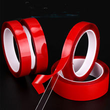 2 Rolls /1roll 3M  Double Sided Adhesive Tape Acrylic Transparent No Traces Sticker for LED strip Car Fixed Phone Tablet Fix 5 rolls 9mm 50 meters 3m double face high adhesion adhesive black tape for home appliance control panel car parts screen fix