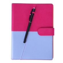Erasable Reusable Smart Notebook PU Leather Hardcover Sketch Pads APP Storage Available with 1 Erasable Pen Perfect for Studen xp pen note plus smart reusable erasable notebook cloud flash storage for school office supplies app connection