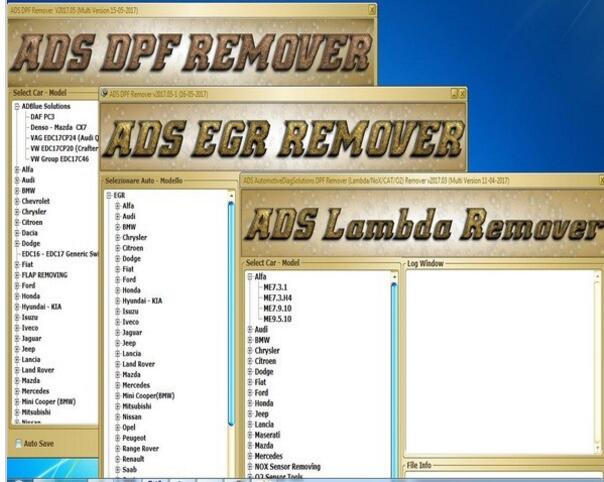 dpf egr lambda remover