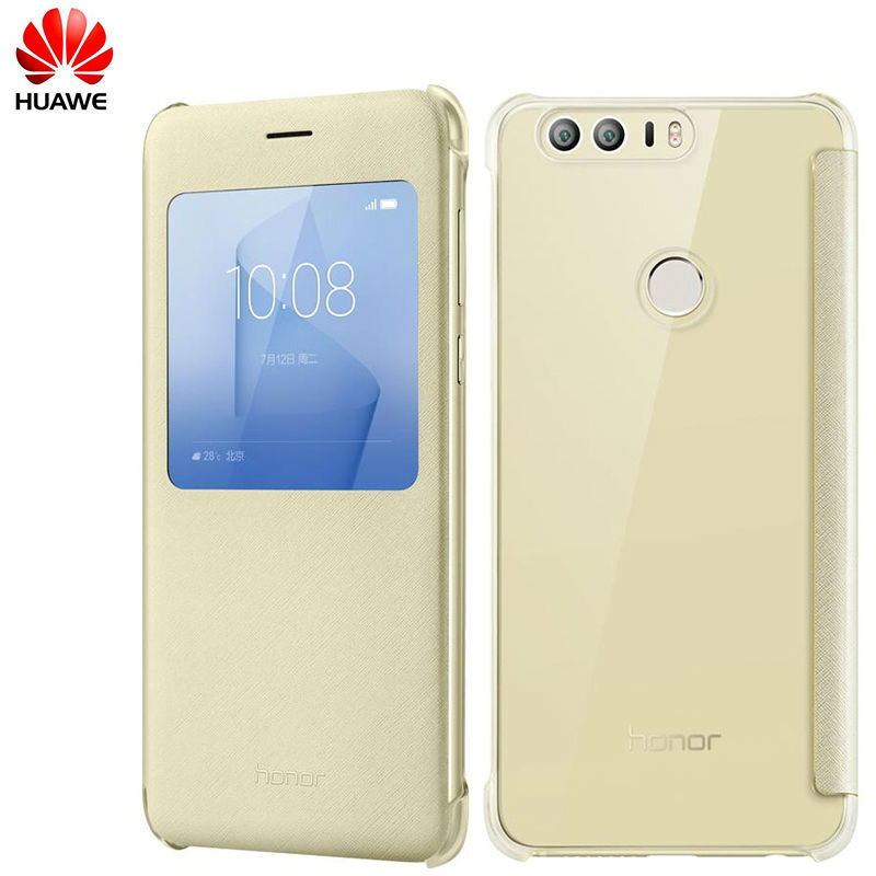 100 Original Huawei Honor 8 Case PC PU Flip PU Case Cover for HUAWEI Honor 8