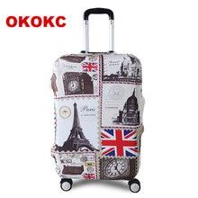 """Okokc башня путешествия Чемодан чемодан защитная крышка для багажник случае применяются к 19 """"-32"""" чемодан чехол толстые эластичные идеально"""