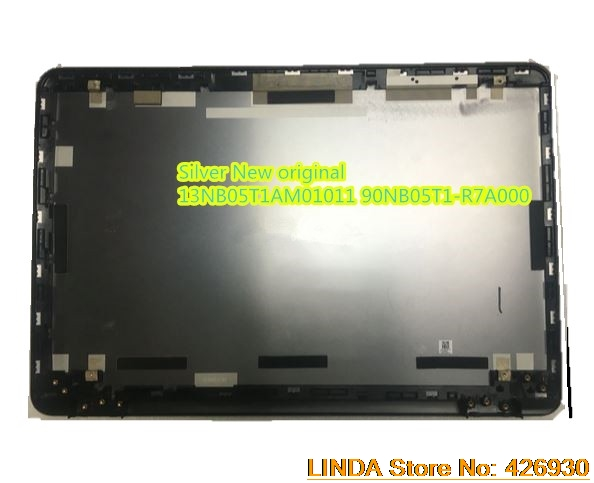 Laptop LCD Top Cover For ASUS N551 N551J N551JB N551JK N551JM N551JQ N551JW Silver 13NB05T1AM01011 90NB05T1-R7A000 New original original a1706 a1708 lcd back cover for macbook pro13 2016 a1706 a1708 laptop replacement