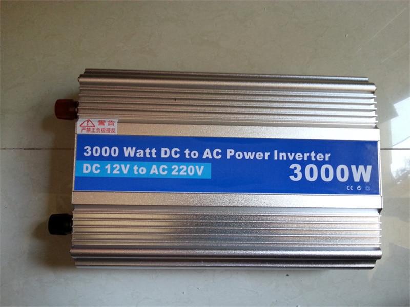 цена на 3000W-1,Modified Sine Wave power inverter 3000w peak 6000W DC12V to AC 220V dc ac car Power Inverter,Body size:340mm*205mm*80mm