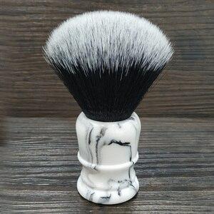 Image 1 - Sintético Suave suave Brocha de afeitar 26mm buena esmoquin nudo y mango de resina para hombre afeitado húmedo