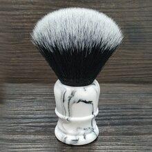 Zacht Synthetisch Haar scheerkwast met 26 MM Goede Smoking Knoop en Hars Handvat voor Man nat scheren