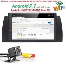 9 inch 1024x600 HD Touch Screen 1 din Android 7 1 Car Multimedia Radio Stereo for