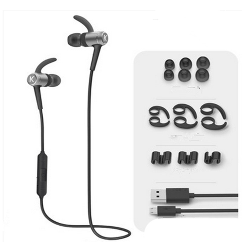 bluetooth wireless music earphones dual track stereo execrise good sound quality earplug. Black Bedroom Furniture Sets. Home Design Ideas