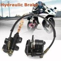 Mayitr Thủy Lực Rear Disc Brake Caliper Hệ Thống 110cc 125cc PRO Pit Quad Dirt Bike ATV Xe Máy Phanh Phụ Kiện