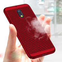 Heat Dissipation Case For Nokia 2 5 3 8 7 6 2018 Sirocco Ultra Thin Protective Back Cover Hollow Bumper Housing Capas