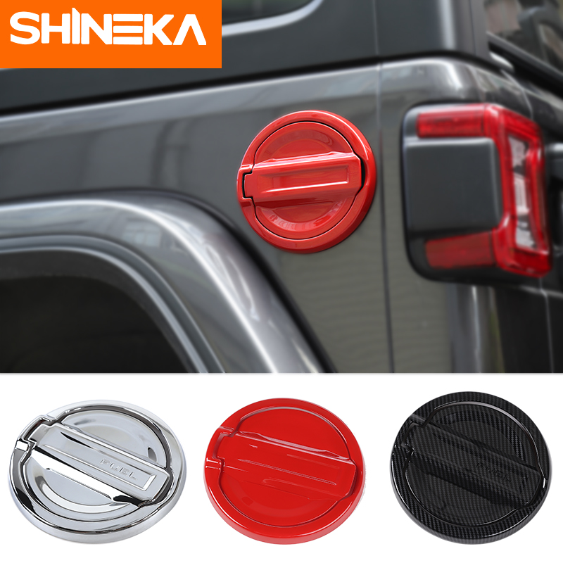Tank Covers 2019 New Style Shineka Tank Covers For Jeep Wrangler Jl 2018 2 Pcs Abs Car Gas Fuel Tank Cap Cover Stickers For Jeep Wrangler Jl Accessories Special Buy Back To Search Resultsautomobiles & Motorcycles