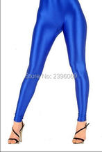 (LG64) Unisex Lycra Spandex Tights Solid Color Opaque Zentai Legging Fetish Wear Customize Size
