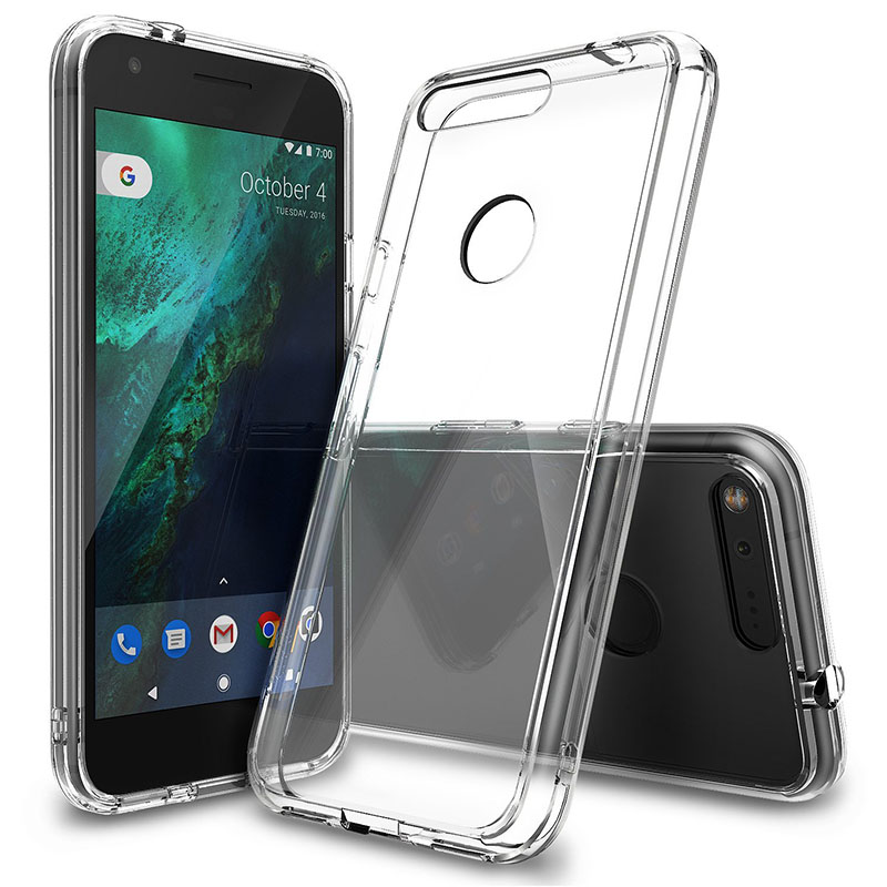 Transparent Soft TPU Case For Google Pixel XL 2 2XL XL2 Silicon Clear Back Cover Anti-Knock Protector Case Caso