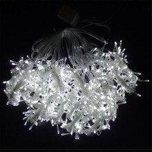 110 В 3 м х 3 м 304 светодиодный теплый белый Рождественский Декоративный Рождественский гирлянда сказочные гирлянды вечерние гирлянды для свадьбы