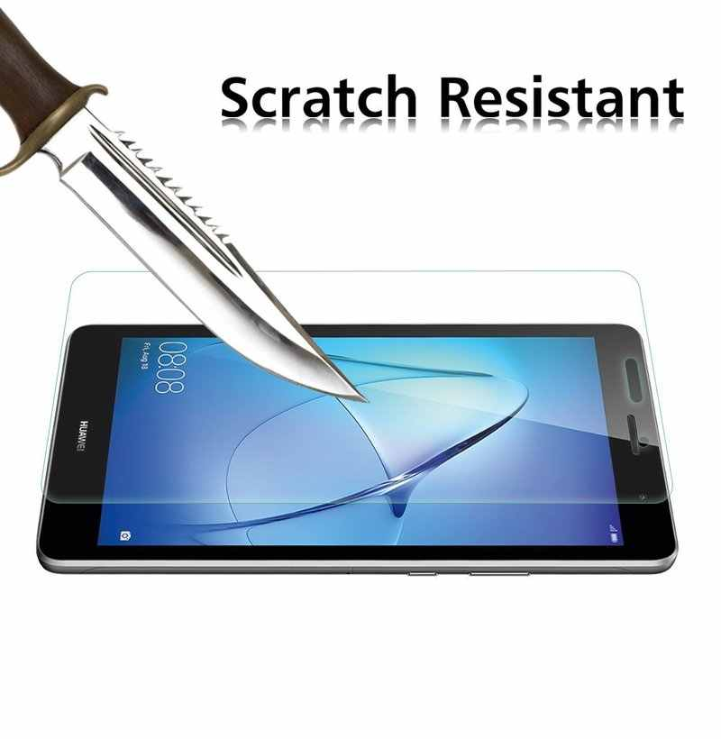 Anti Gores untuk Huawei T3 7.0 Wifi BG2-U01 BG2-W09 Pelindung Layar untuk Huawei MediaPad T3 3G 7 Inch Pelindung kaca Film