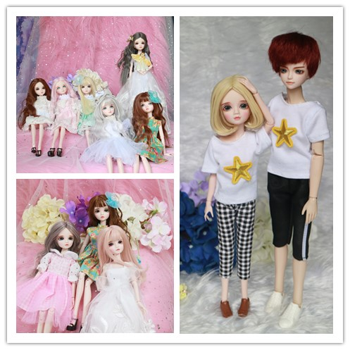 BJD SD doll doll Girl Toy 1/6 Doll make up by hand blyth Doll Toy Gift For DIY BJD 1 3 scale 58cm bjd nude doll diy make up dress up sd doll dia not included apparel and wig