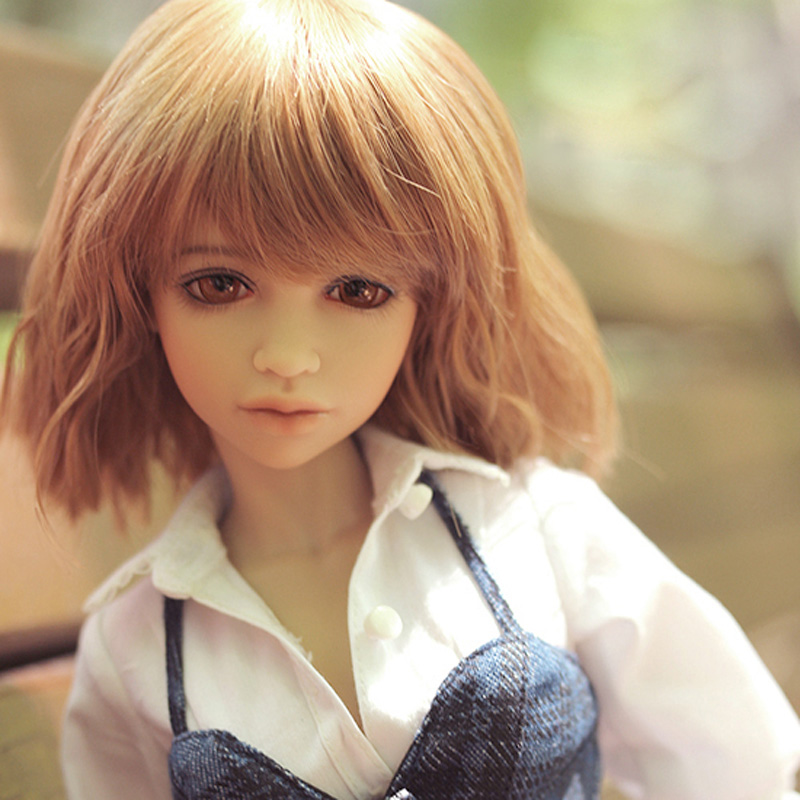 Top Quality 1/4 BJD Doll SD Fashion Benny Reborn Joint Doll Model Doll With Makeup For Baby Girl Gift Present
