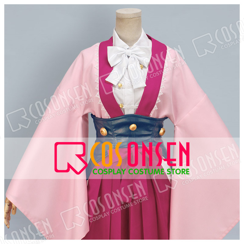 COSPLAYONSEN Kabaneri of the Iron Fortress Ayame Cosplay costume All Size