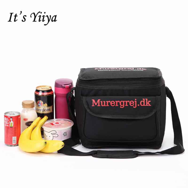 Free Shipping Black Large Nylon Waterproof Picnic Cooler Bag Lunch Bag Thermal Bags For Food Handbags Insulation Ice Pack BD9009